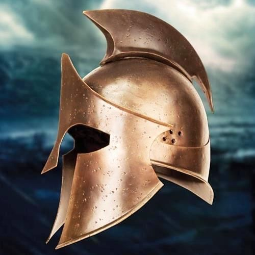 Helmet of Greece, from the movie 300 the rise of an empire