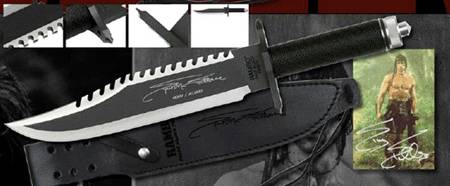 RAMBO FIRST BLOOD PART II KNIFE