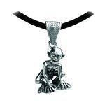 Gollum Pendant, in silver. Of the movie the hobbit