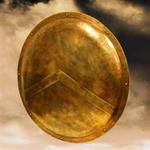 Sparta Shield, from the movie 300 the rise of an empire