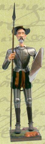 REAL ARMOR OF DON QUIXOTE