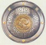 ENGRAVED ROUND SHIELDS