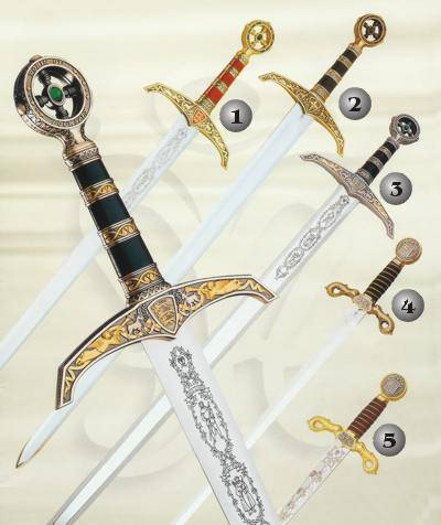 ROBIN HOOD SWORD AND COLUMBUS SWORD