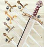 RICHARD LIONHEART SWORD, ROLDAN SWORD AND BARBARROJA SWORD