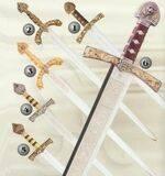 RICHARD LIONHEART SWORD, ROLDAN SWORD AND BARBARROJA SWORD