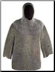 Coat of medieval armours
