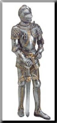 Medieval armors made in Toledo.