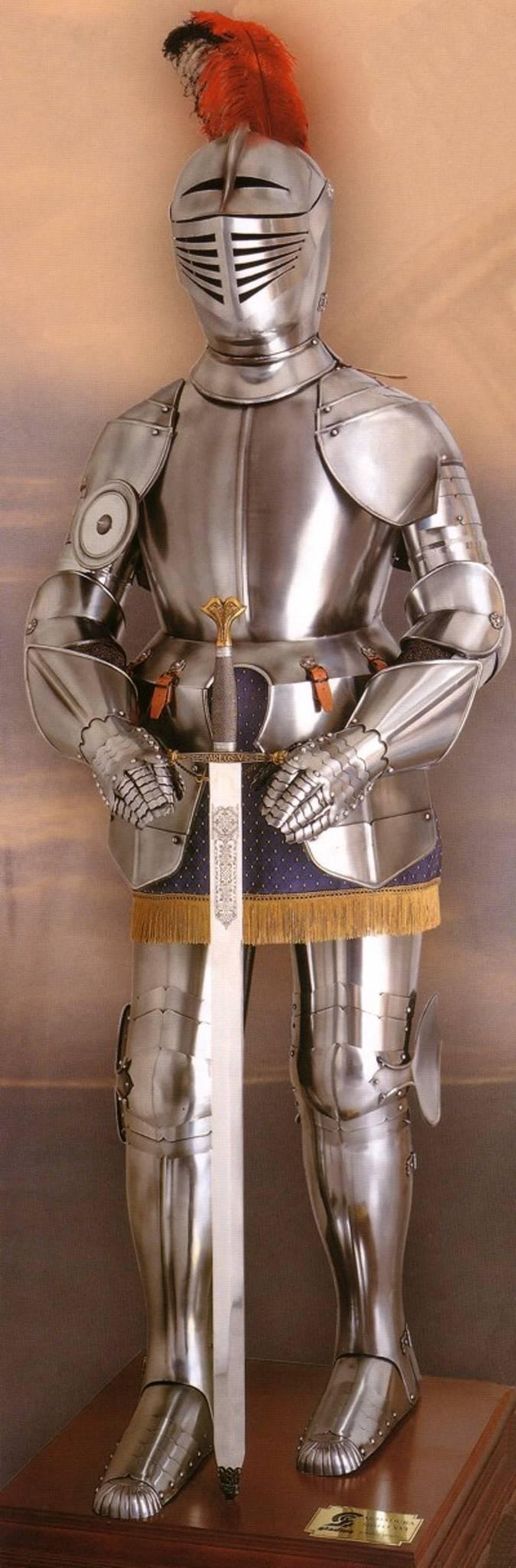 Gladius medieval armour