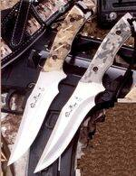 Muela knives of camouflage