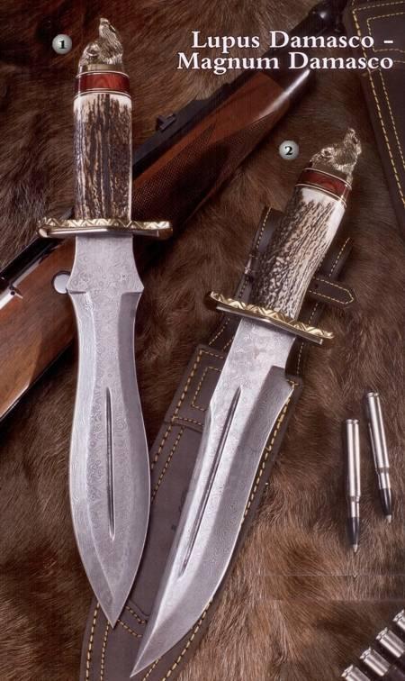 Muela Lupus and Magnum knives