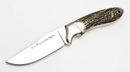 MUELA COCKER-11A HUNTING KNIFE WITH CASE