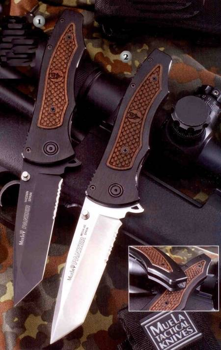 Muela penknives Tactics