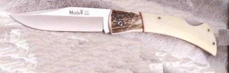 Muela mount BT pocket knife