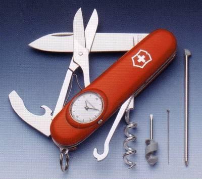 Victorinox Timekeeper Victorinox Pocket Knife Swiss Tool