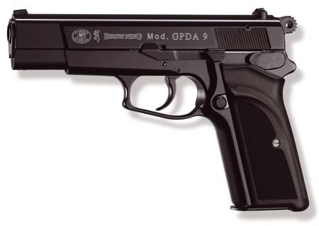 9 mm pistol sketch