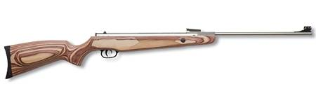 AIR RIFLE WITH COMPETITION STOCK