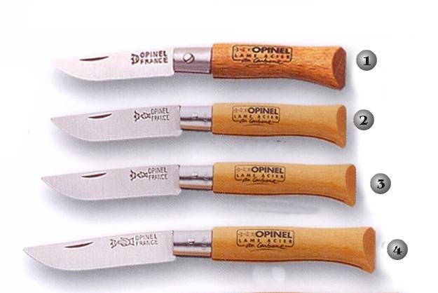 Opinel penknives without cover