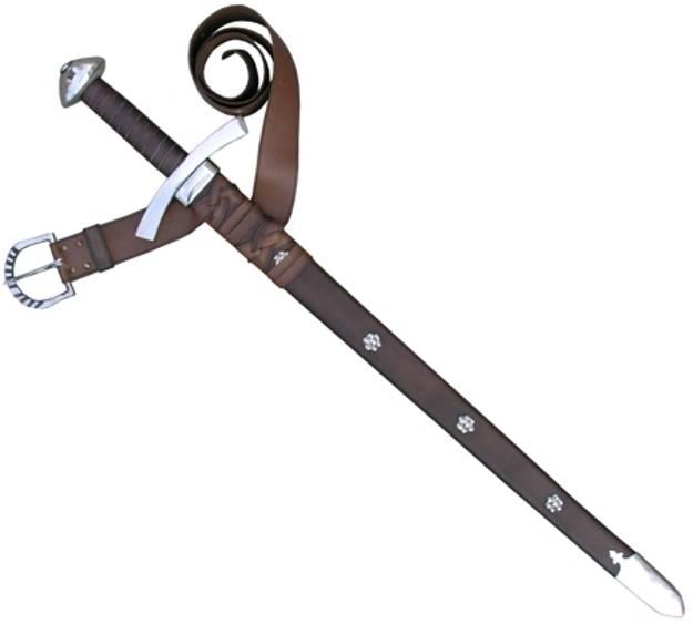 Scabbard sword.