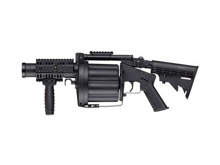 AIRSOFT MULTIPLE GRENADE LAUNCHER