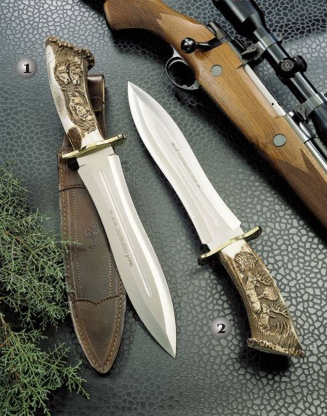 Podenqueros knives of prestigous spanish mark Muela