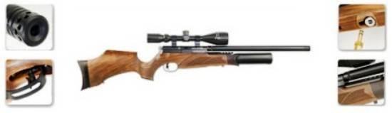 PCP guns work with natural air