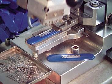 Metalic engraved