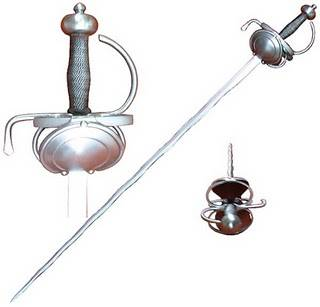 Daggers used to accompany the rapier sword