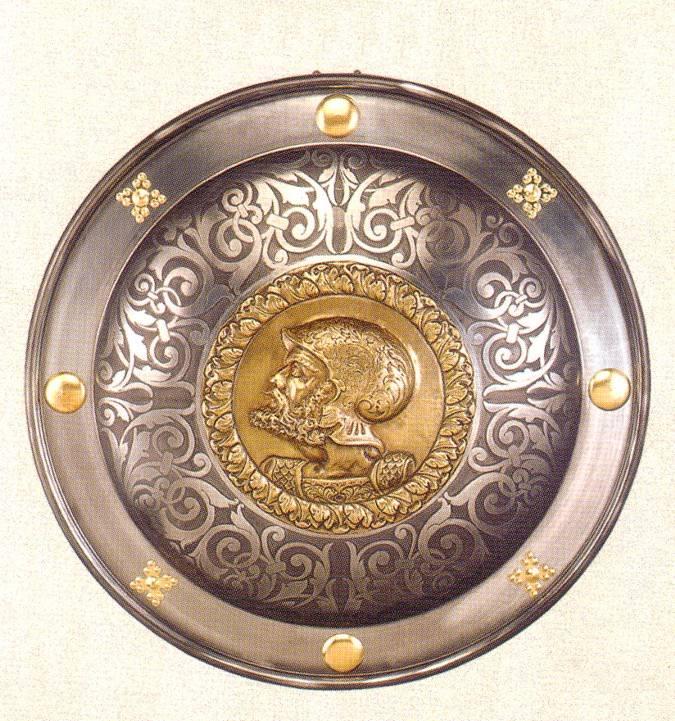 Medieval round  shields