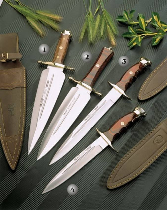 Muela Remate, Serreño and Bowie knives