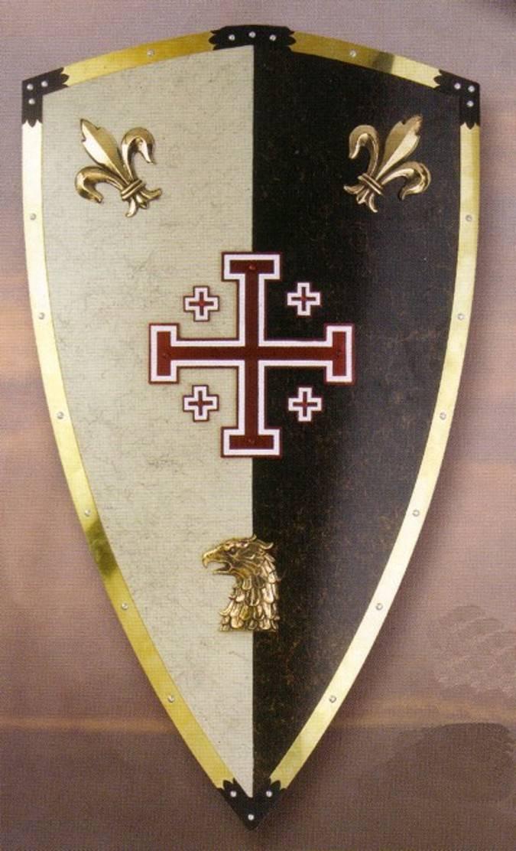 The Knight Of Jerusalem Shield Medieval Shield