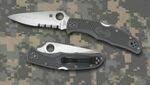 ENDURA FOLIAGE GREEN POCKET KNIVES WITH COMBINATED EDGE AND SPYDER EDGE