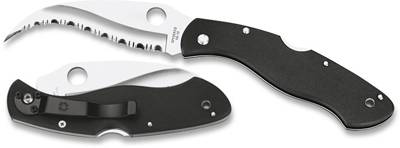 SPYDERCO CIVILIAN POCKET KNIFE WITH SPYDER EDGE