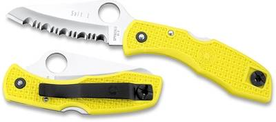 SALT1 PENKNIFE WITH YELLOW HANDLE