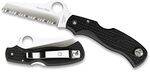 SPYDERCO BLACK RESCUE FRN POCKET KNIFE WITH SPYDER EDGE