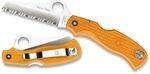 SPYDERCO ORANGE RESCUE FRN PENKNIFE WITH SPYDER EDGE