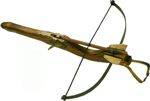 ANCIENT CROSSBOW OF WOOD