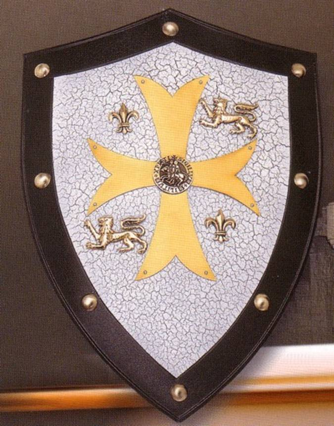 The Temple knight shield