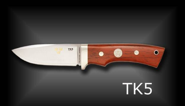 Fallkniven knives with 3G steel.