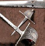 DAGGER OF CHARITY OF XVI CENTURY