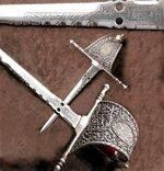 DAGGER OF CHARITY OF XVI CENTURY