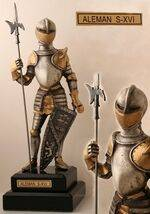 MINI ARMOR OF XVI CENTURY