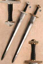 BRASS AND NICKEL SWORDS