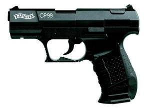 Umarex Walther CP99 Co2 airgun with slip grip.