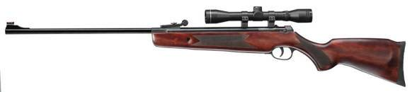 Hammerli Hunter Force 600 combo airgun with break barrel.