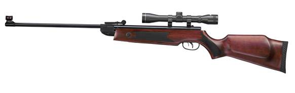 Break barrel hammerli hunter force 750 combo airgun.