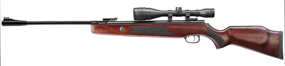 Umarex hammerli hunter force 1000 combo break barrel air rifle.