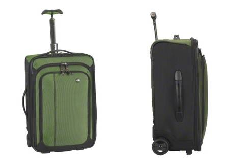TRAVEL SUITCASE WITH WEEHLS VICTORINOX