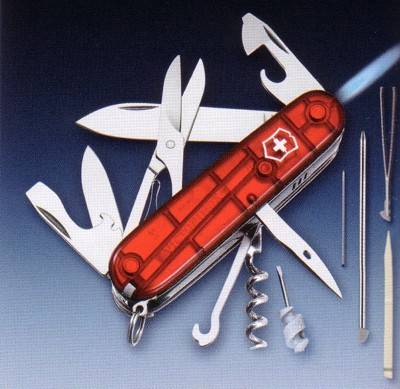 Victorinox Knife Swissflame Multi Tools Pocket Knife