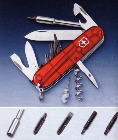 CYBER TOOL 29 FEATURES MULTI-TOOL VICTORINOX POCKETKNIFE