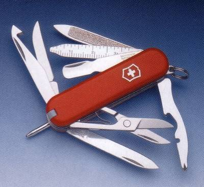 RED MINICHAMP MULTI-TOOL VICTORINOX POCKET-KNIFE